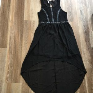 High-Low Black Maxi Dress; New With Tag Never Worn